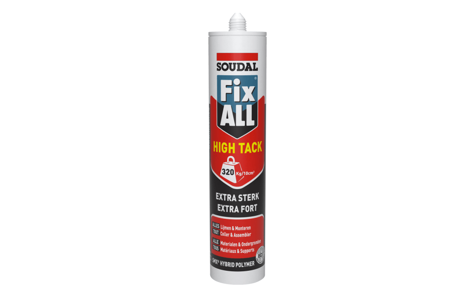 Colle Fix ALL High Tack cartouche 290ml-feuille-pierre naturelle colle cartouche pose StoneLeaf