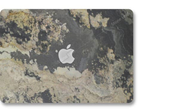 Coque cover MacBook feuille de pierre 100% naturelle Moscou StoneLeaf