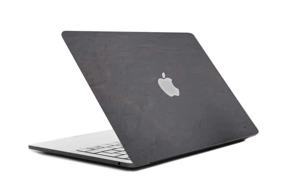 Coque cover MacBook feuille de pierre 100% naturelle Budapest StoneLeaf